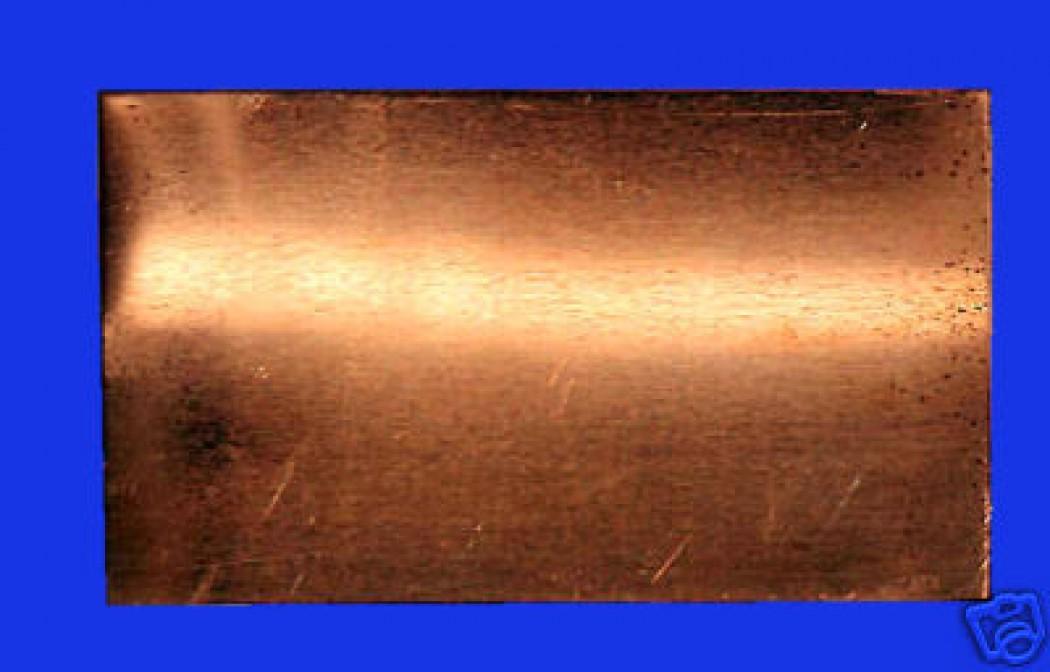 kupfer blech weich glatt formbar 300x400 mm 0 1 mm. Black Bedroom Furniture Sets. Home Design Ideas